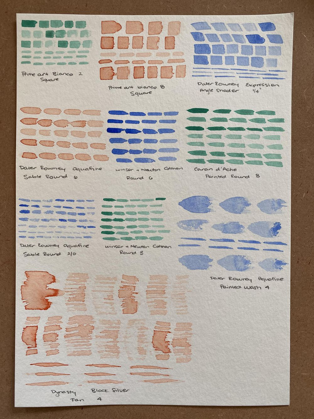 Watercolor workout exercises - image 2 - student project