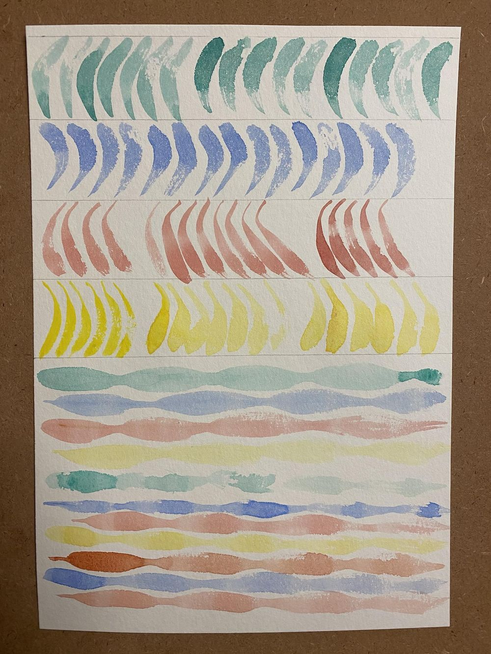 Watercolor workout exercises - image 8 - student project