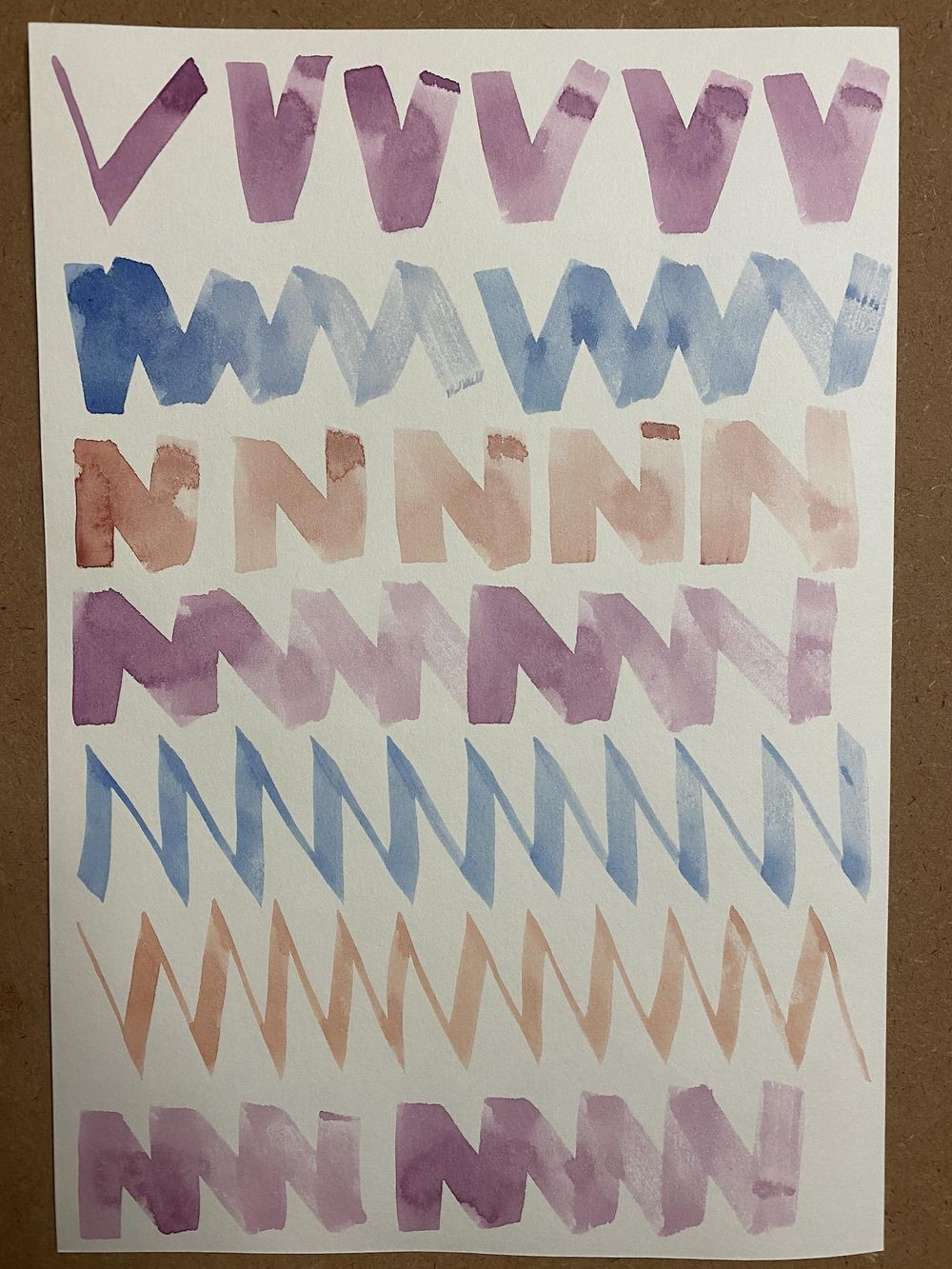 Watercolor workout exercises - image 7 - student project