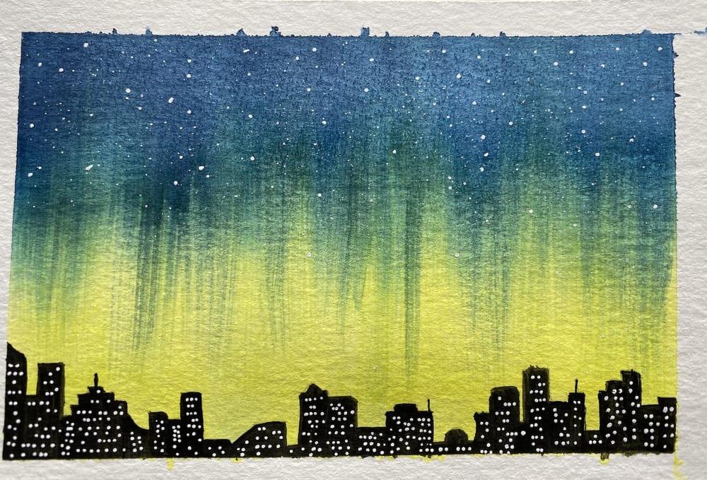 Northern lights 4 ways - Z. Nabeel - image 4 - student project