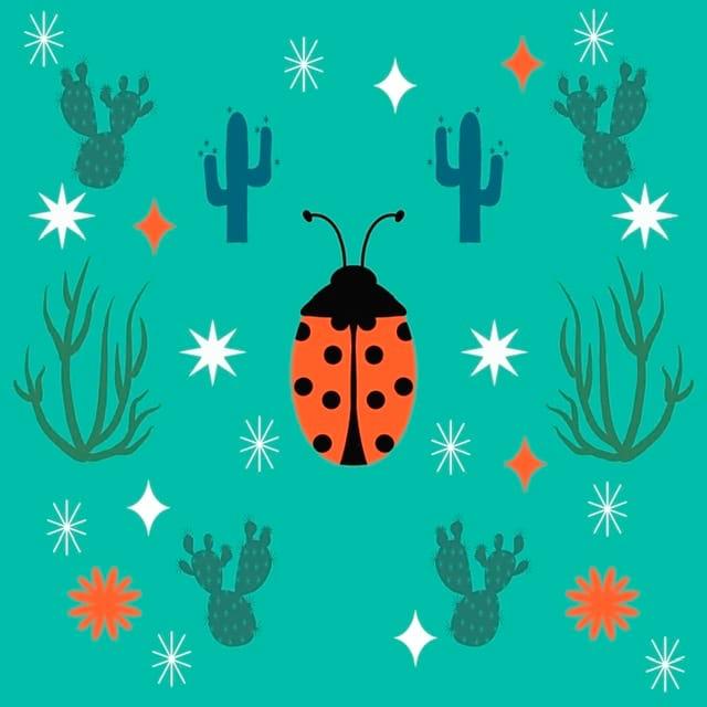 Desert Ladybug - image 1 - student project