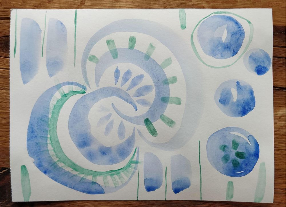 Watercolor Playgrounds: Discover Your Style and Break Your Blocks - image 1 - student project