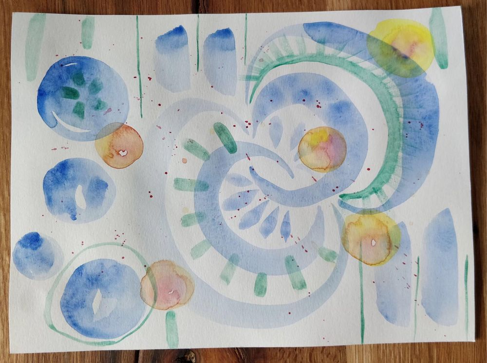 Watercolor Playgrounds: Discover Your Style and Break Your Blocks - image 2 - student project