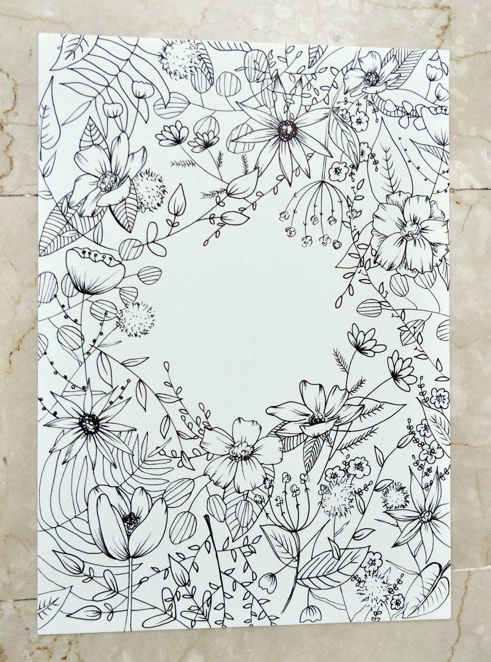Floral Illustration: Composition Meets Negative Space - image 2 - student project