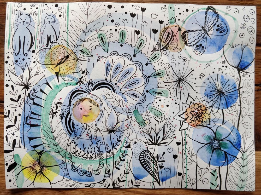 Watercolor Playgrounds: Discover Your Style and Break Your Blocks - image 3 - student project