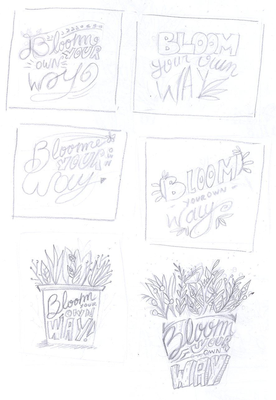 Bloom your own way - image 4 - student project