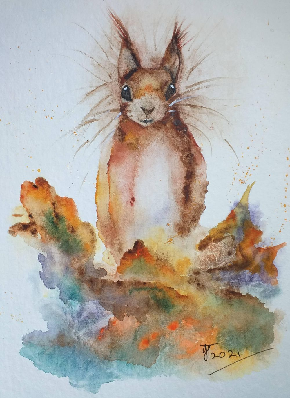 Sidney the Squirrel - image 1 - student project