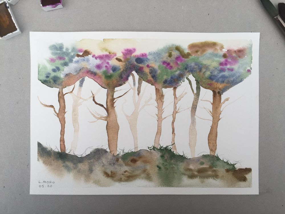 Loose trees with Jane Davies - image 2 - student project