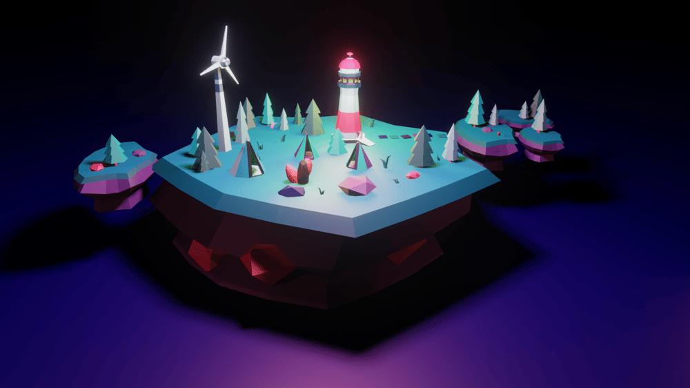 Magic Island - image 1 - student project