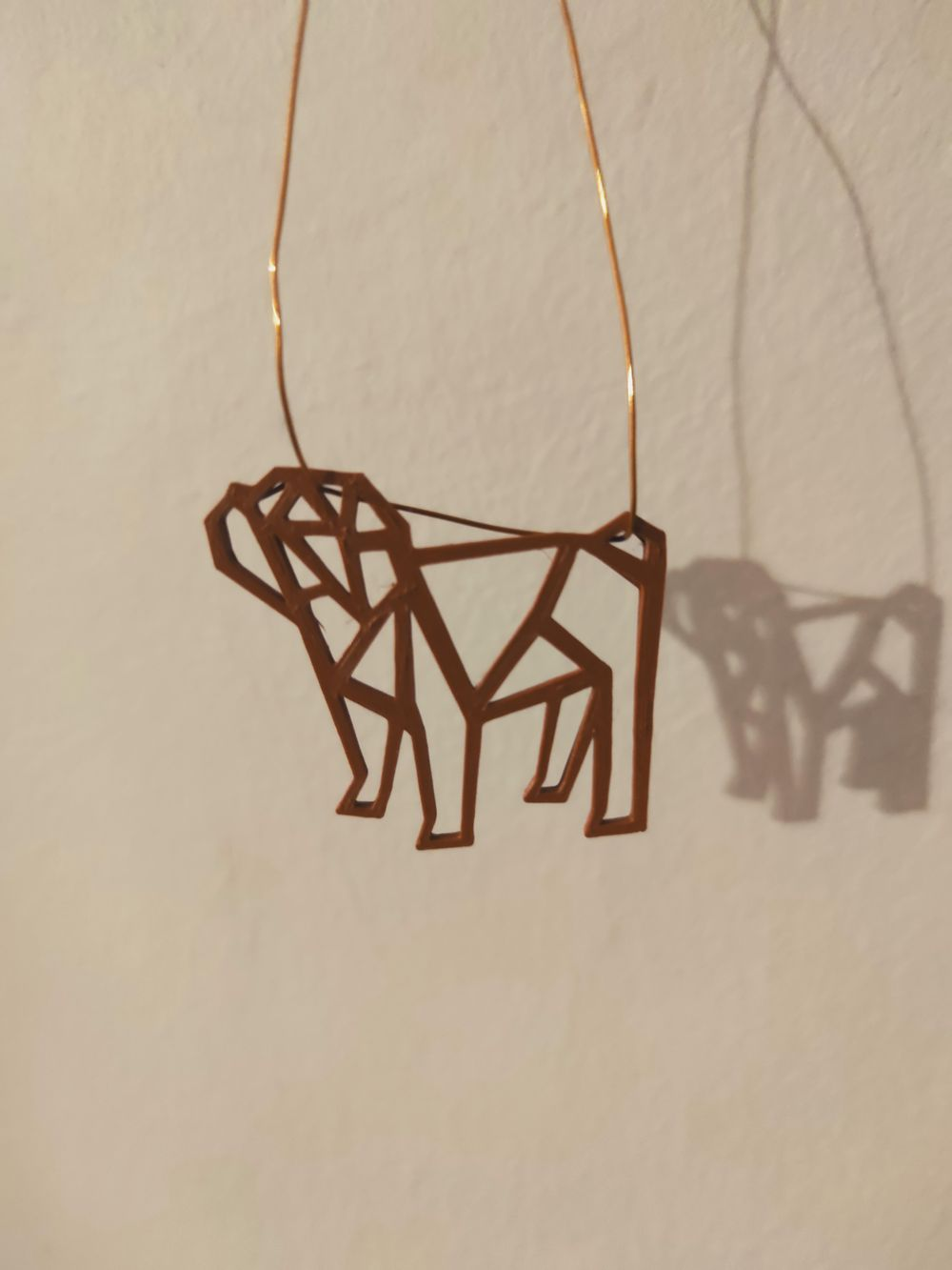 Bulldog necklace - image 2 - student project
