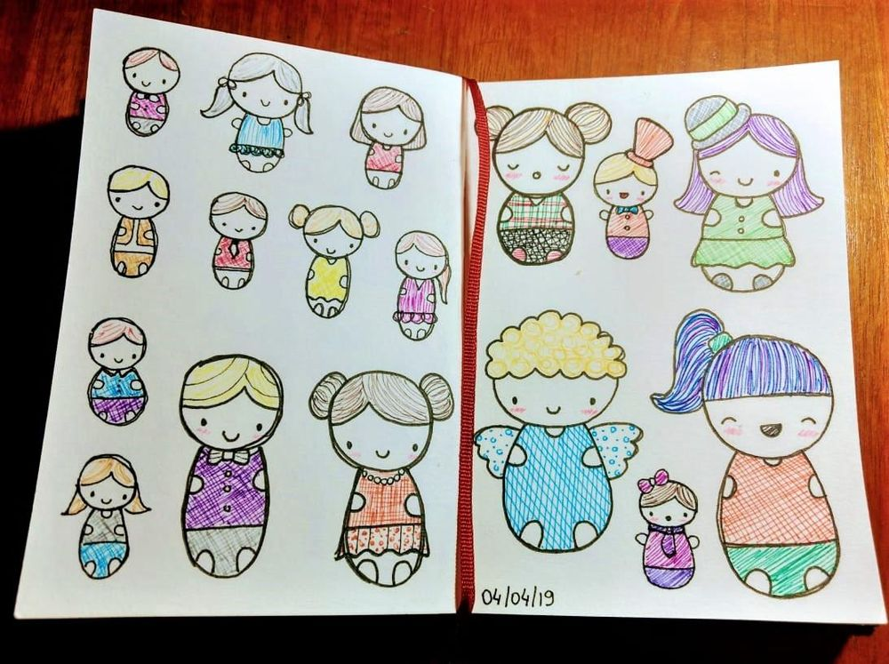 Drawing Cute: People - image 1 - student project