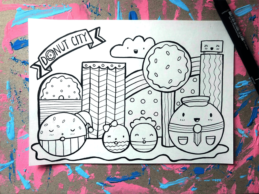 Doodle Magic Contest Entry - image 1 - student project