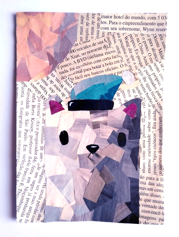 Little Cat Collage - image 1 - student project
