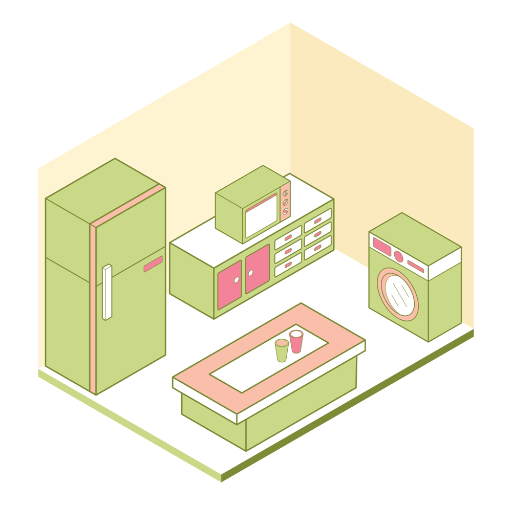 Isometric Kitchen - image 2 - student project