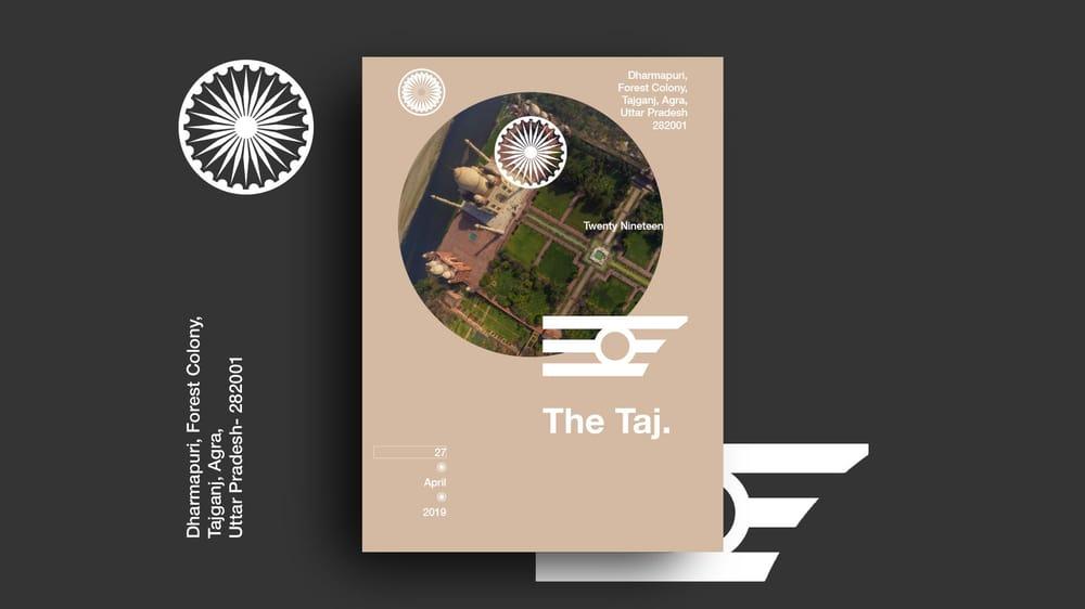 Branding the Taj - image 3 - student project