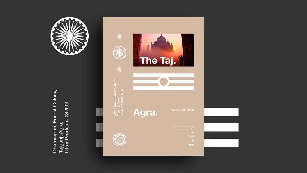 Branding the Taj - image 1 - student project