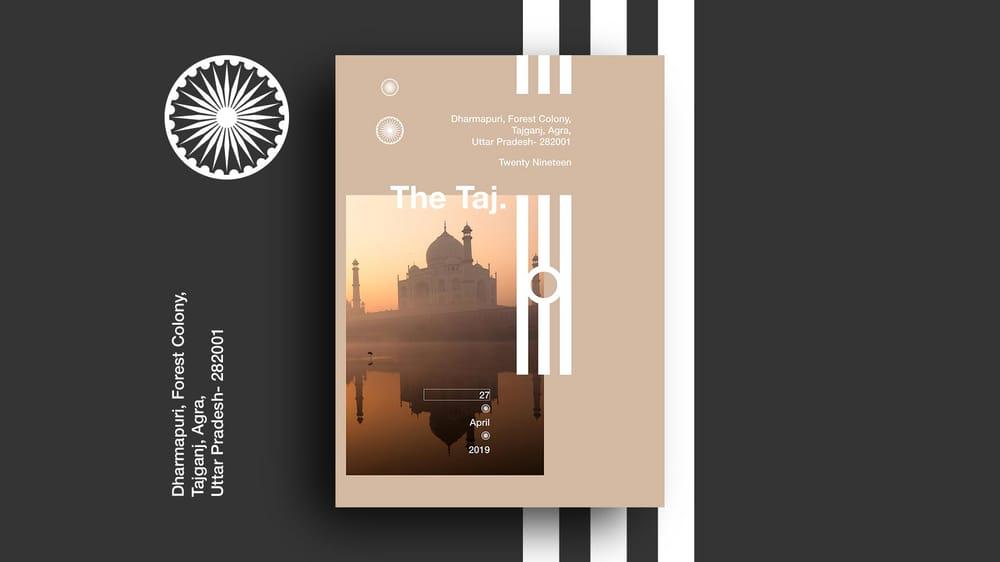 Branding the Taj - image 2 - student project