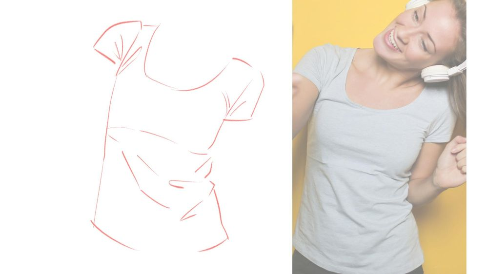 T-Shirt Drawing Practice! - image 1 - student project