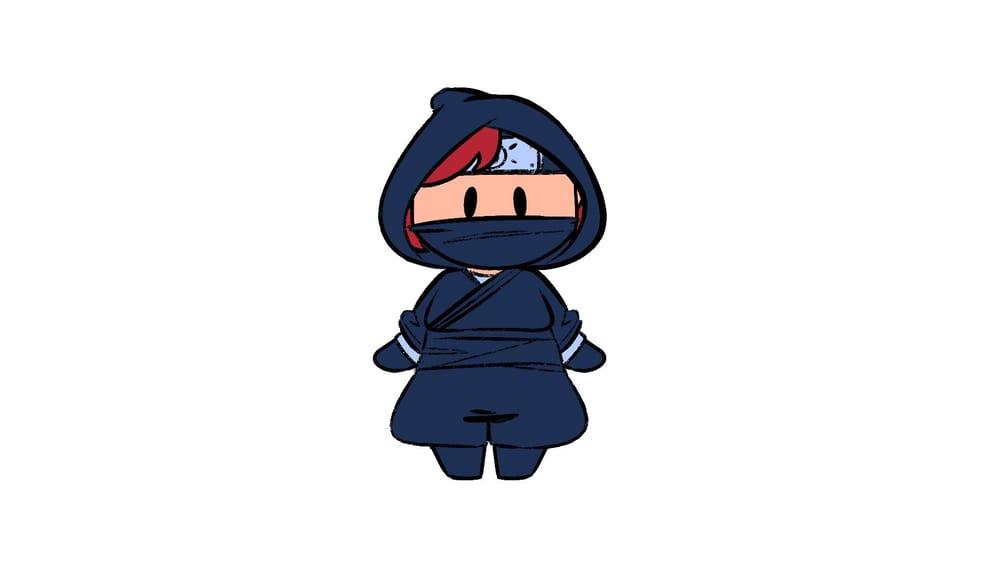 Tiny Adorable Ninja! - image 1 - student project