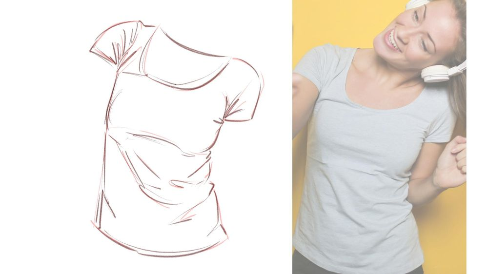 T-Shirt Drawing Practice! - image 2 - student project
