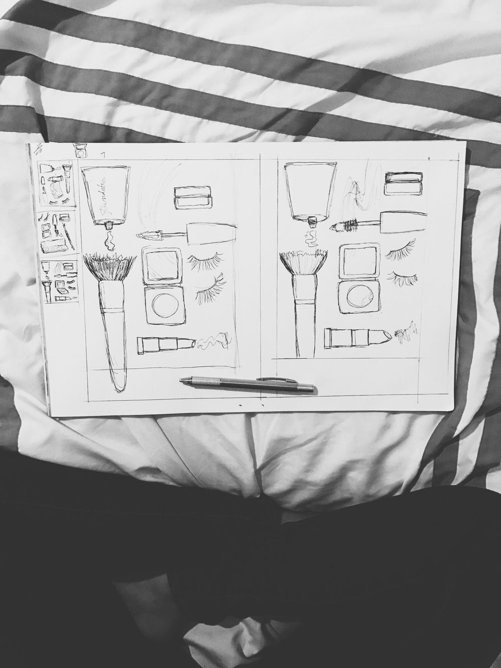 Tools of a Beauty Addict - image 1 - student project