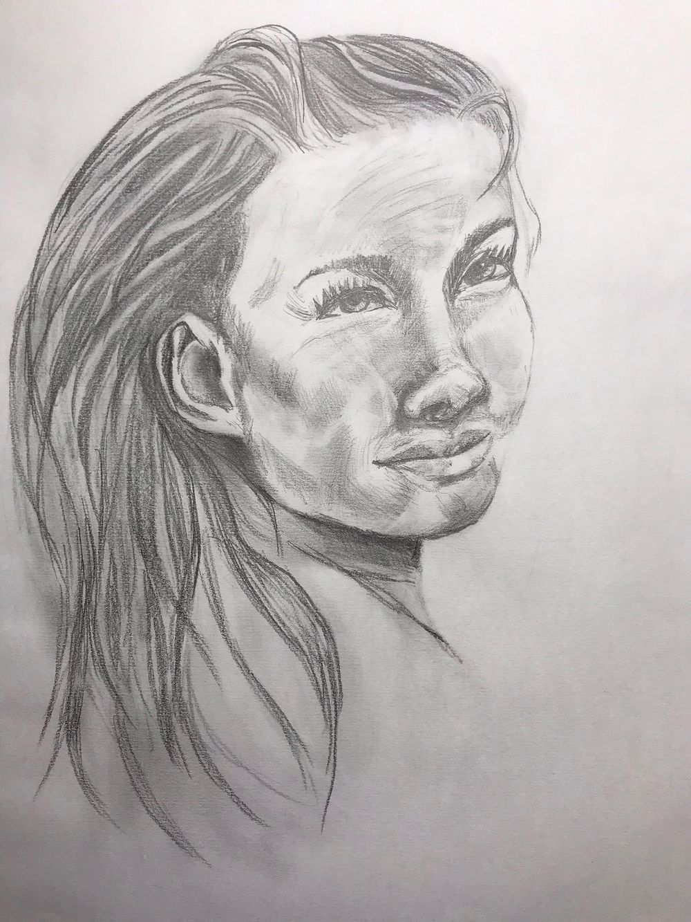 Portraiture Drawing - image 1 - student project