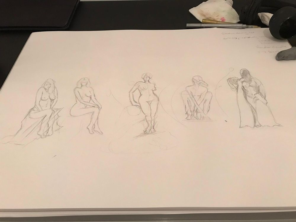 Sketching a model - image 1 - student project