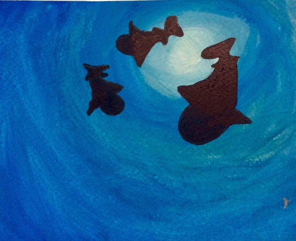 Stina's work: Sharks - image 1 - student project