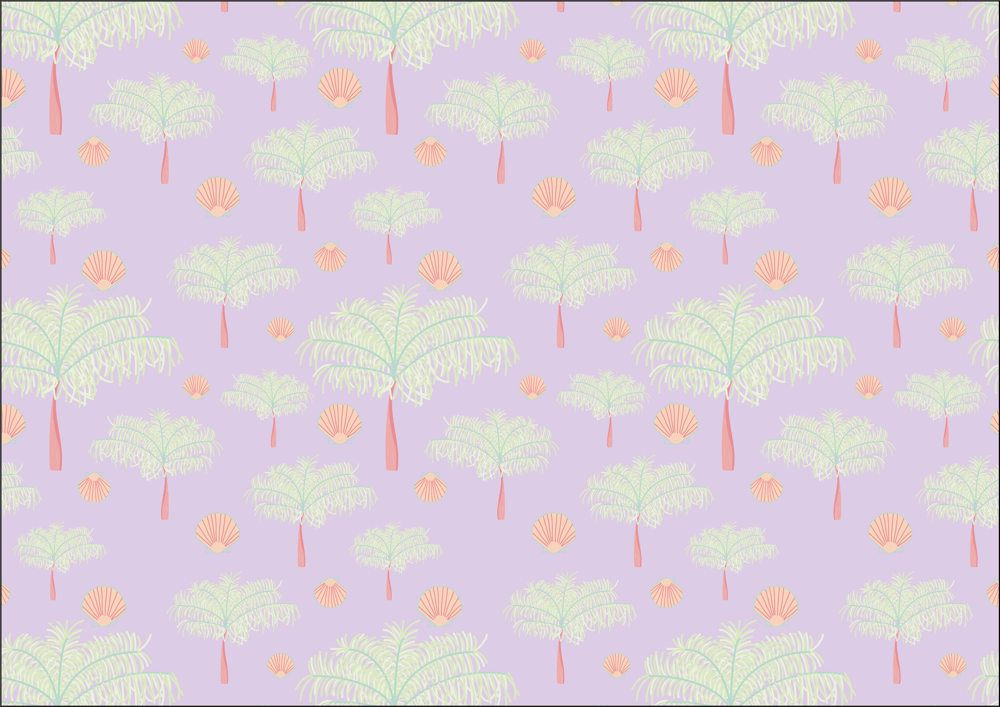 Tropical pattern - image 1 - student project