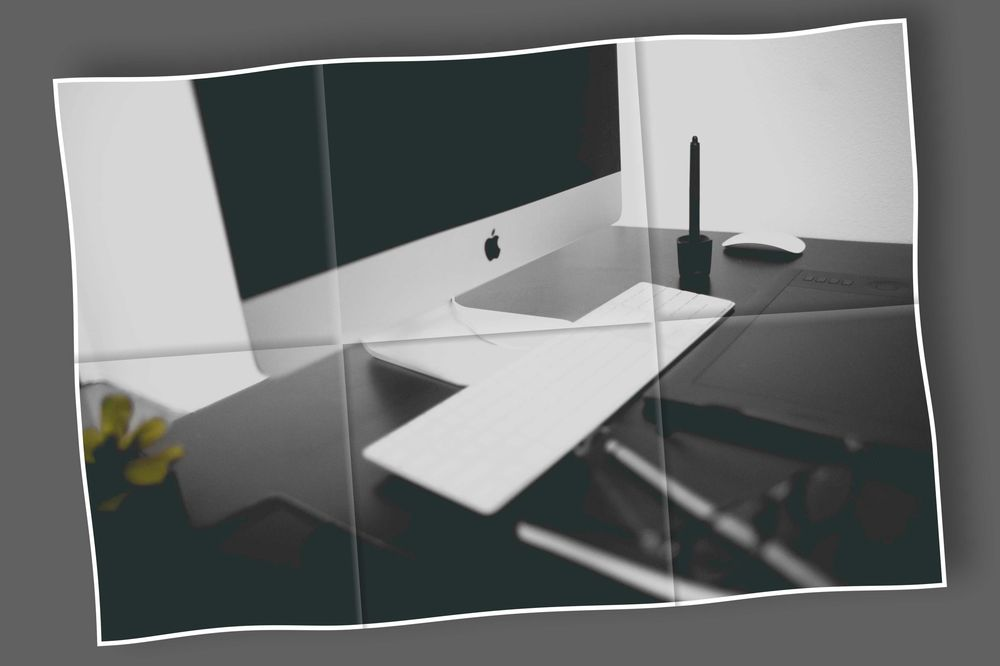 My workstation - image 1 - student project