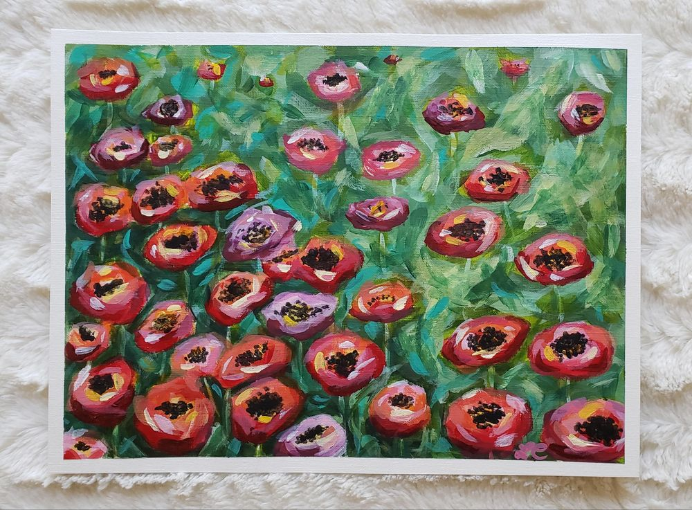 Field of Poppies - image 1 - student project