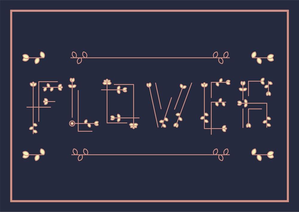 Flower Arrowhead - image 2 - student project
