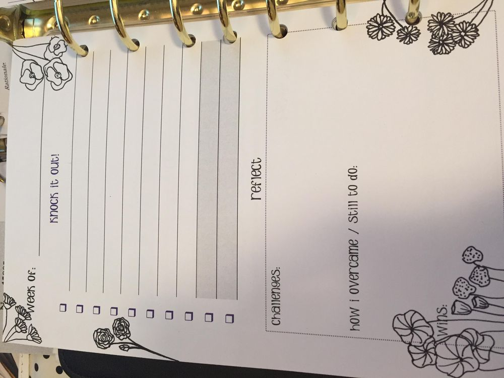 Embellished planner pages - image 2 - student project