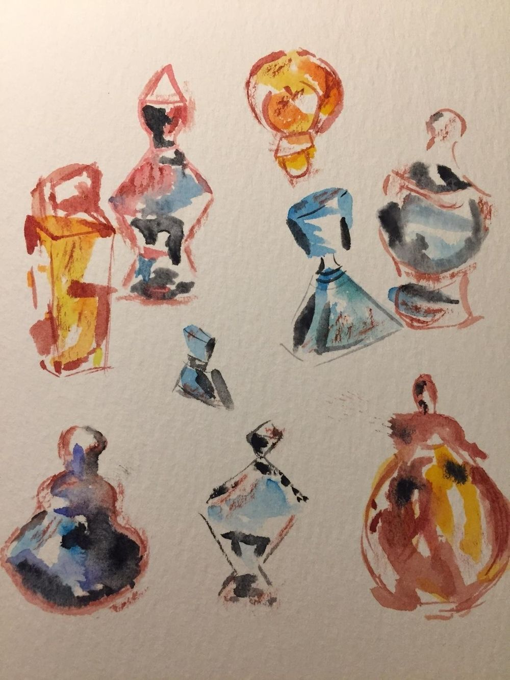 Watercolor Sketching Your Life Workshop - image 11 - student project