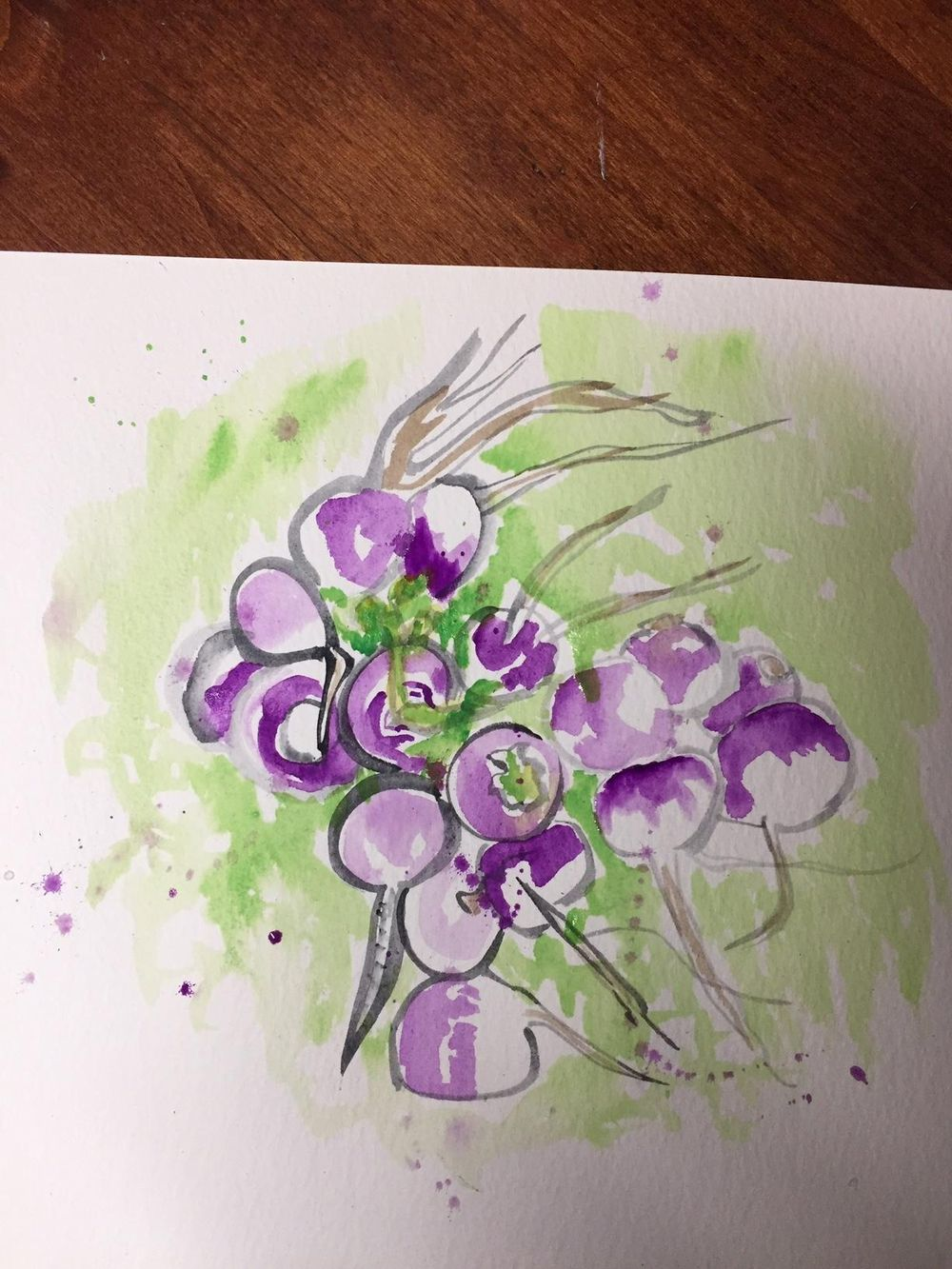 Watercolor Sketching Your Life Workshop - image 7 - student project