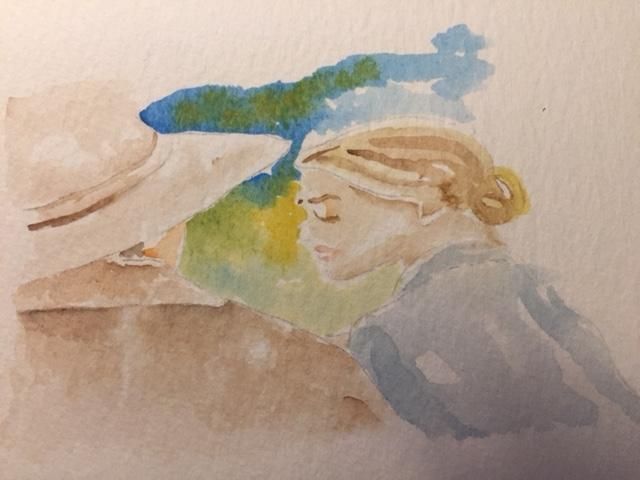 Watercolor Sketching Your Life Workshop - image 5 - student project