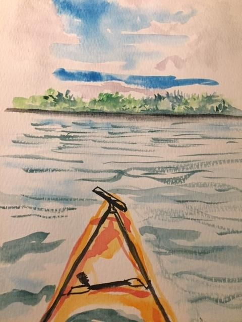Watercolor Sketching Your Life Workshop - image 3 - student project