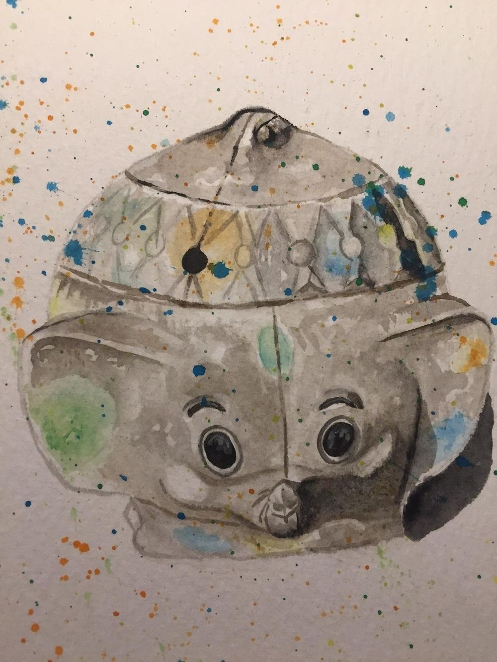 Watercolor Sketching Your Life Workshop - image 15 - student project