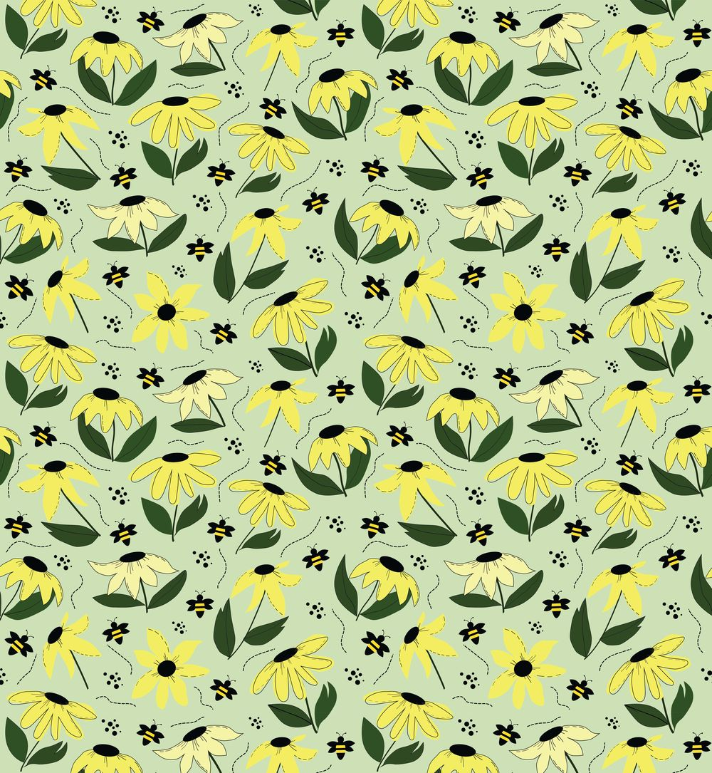 Spring pattern - image 1 - student project