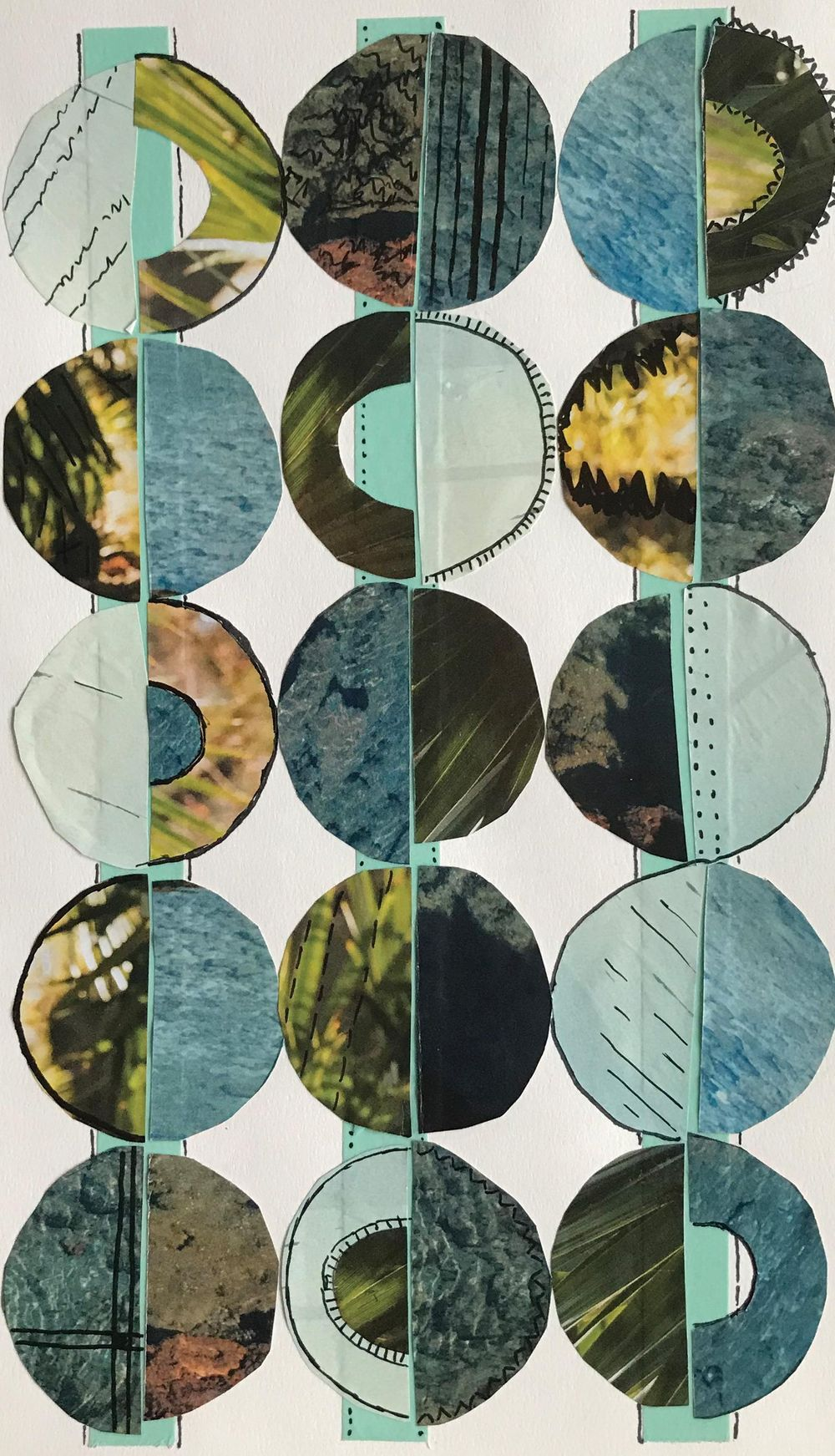 Two Variations of the Circle Collage - image 1 - student project
