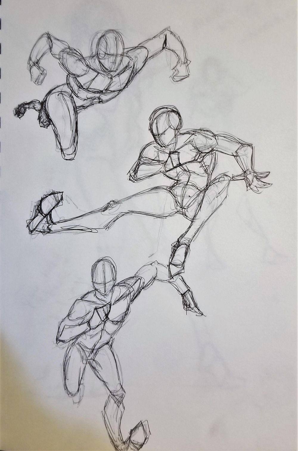 Dynamic Pose practice - image 8 - student project