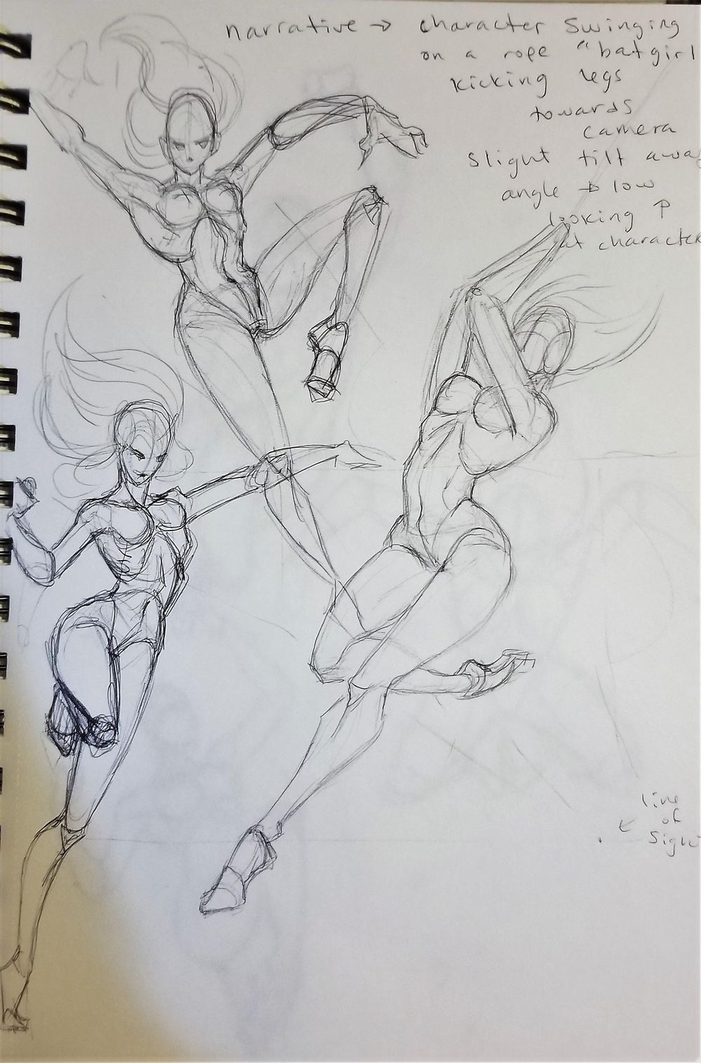Dynamic Pose practice - image 10 - student project