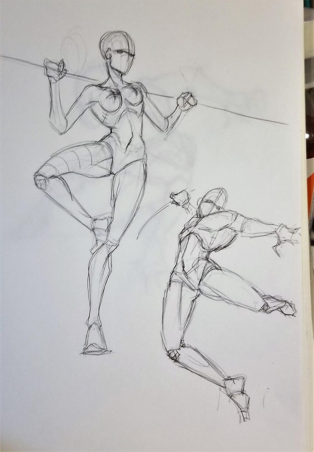 Dynamic Pose practice - image 2 - student project