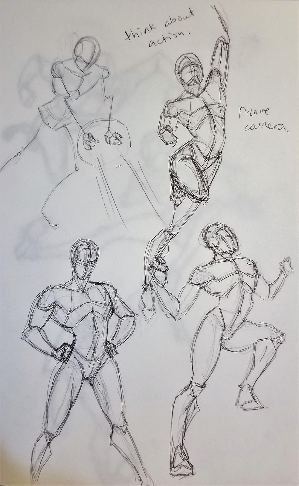 Dynamic Pose practice - image 7 - student project