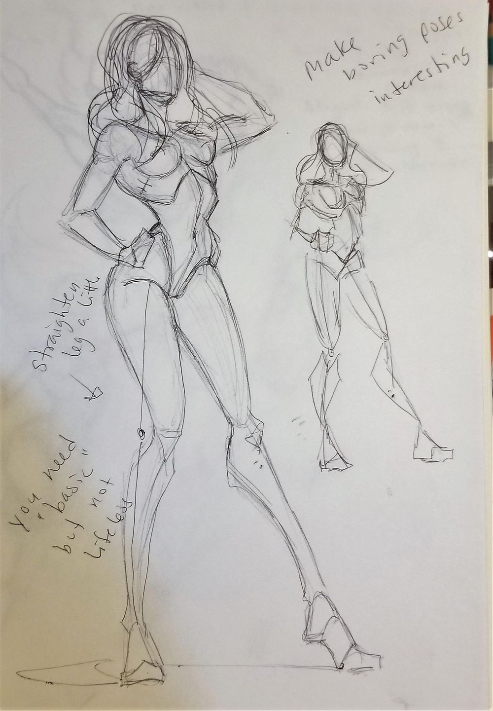 Dynamic Pose practice - image 9 - student project