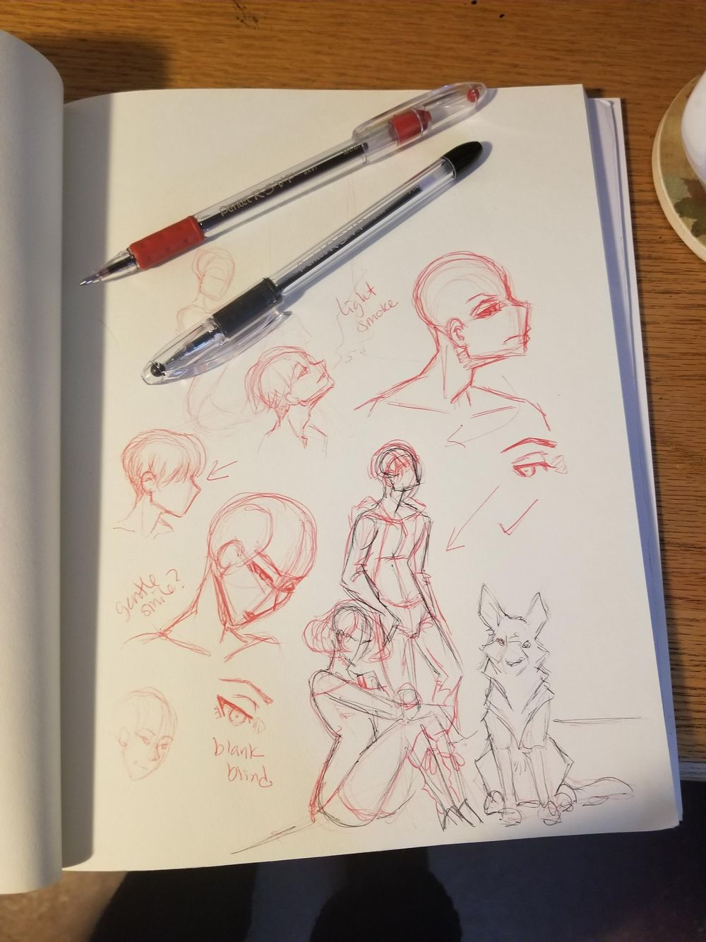 Character Design for Comic Project - image 5 - student project