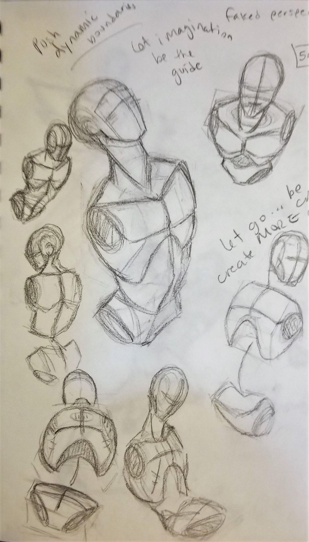 Dynamic Pose practice - image 5 - student project