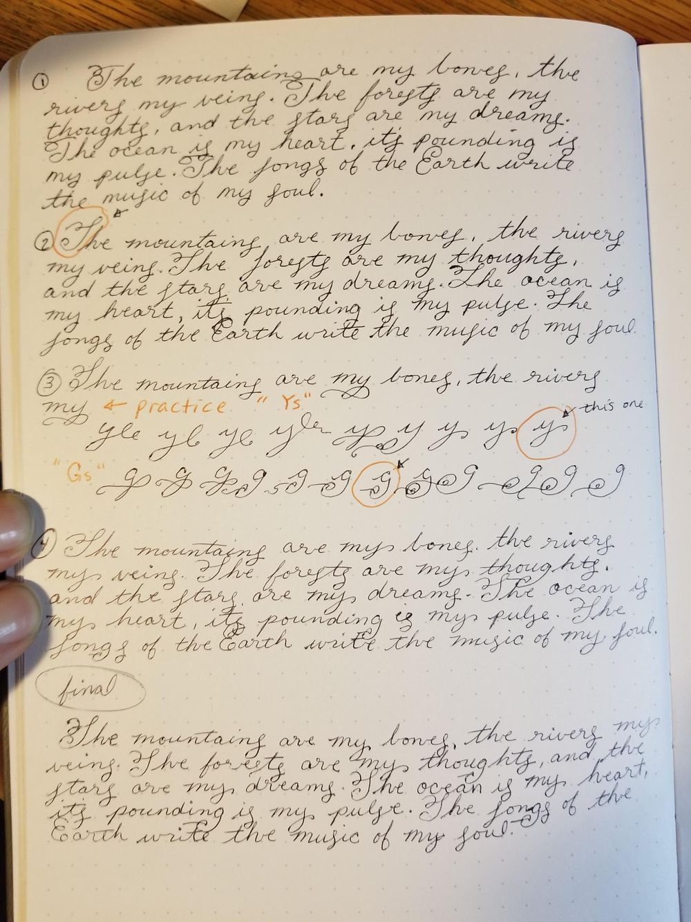 Improving my handwriting - image 2 - student project