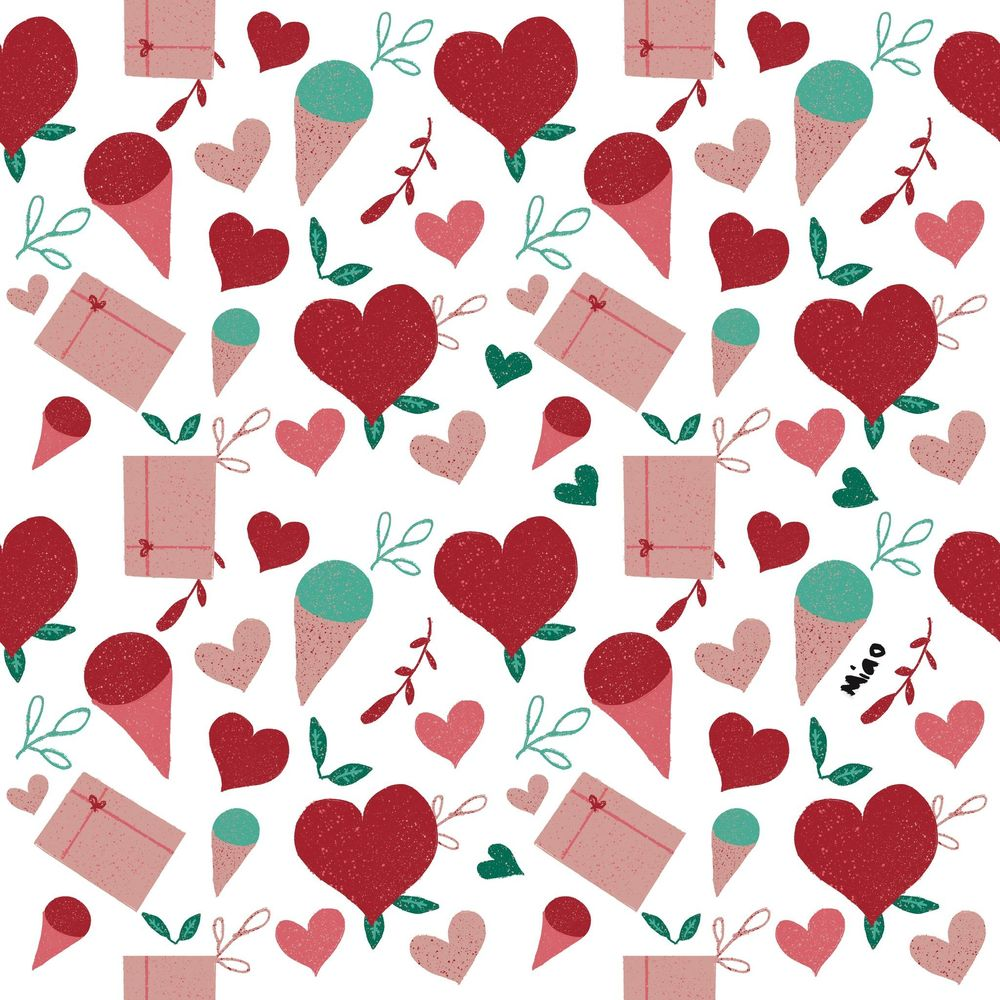 Simple V Day pattern - image 1 - student project