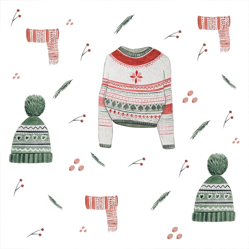 Christmas patterns - image 5 - student project